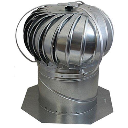 "Ace Hardware AIR VENT 52605 12"" Externally Braced Turbine..."