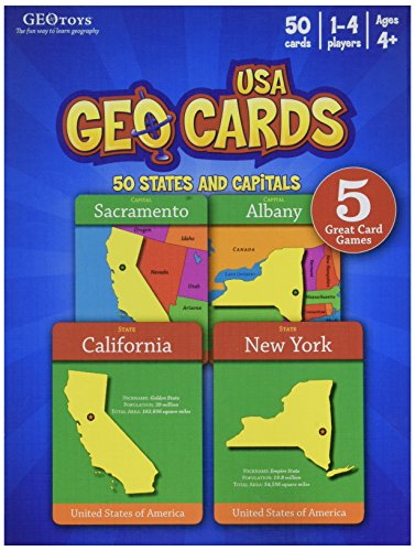 - GeoCards USA - Educational Geography Card Game