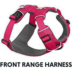 RUFFWEAR - Front Range, Everyday No Pull Dog Harness with Front Clip, Trail Running, Walking, Hiking, All-Day Wear, Wild Berry, XX-Small