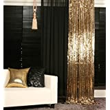ShiDianYi Gold-SEQUIN BACKDROP-2FTx8FT Sequin Photo Backdrop,Photo Booth Background,Sequence Christmas Backdrop Curtain ON SALE by ShinyBeauty