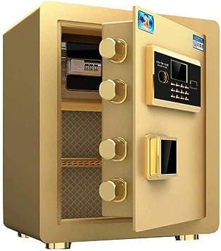 LZRZBH Caja fuerte, seguro hogar electrónica segura Código With antirrobo contraseña de desbloqueo automático Caja de seguridad, pared o en el suelo del gabinete de seguridad for la joyería dinero for: Amazon.es:
