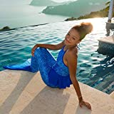 Fin Fun Reinforced Mermaid Tails for Kids, Girls