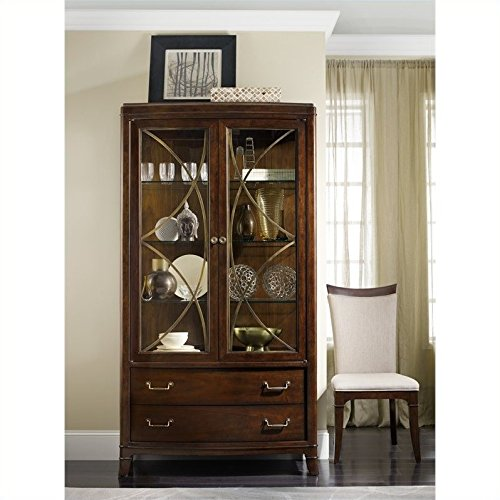 walnut china cabinet - 6