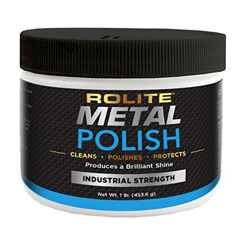 (Rolite Metal Polish Paste (1lb) for Aluminum, Brass, Bronze, Chrome, Copper, Gold, Nickel and Stainless Steel)