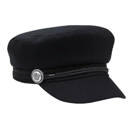 wingbind invierno sombreros para las mujeres hombres octogonal ...