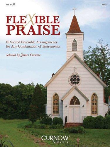 Flexible Praise: Part 3 in C (Viola)