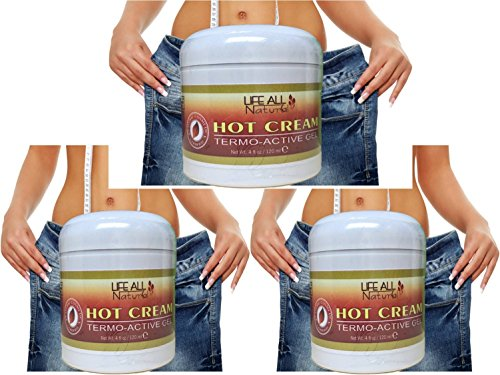 American Natural American Hot Cream 3 PACK 4 oz Fat Burner W