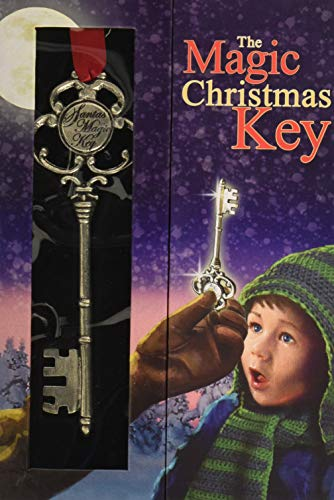 Wendell August Santa's Magic Key Ornament, Metal, Handmade in The USA Forge ()