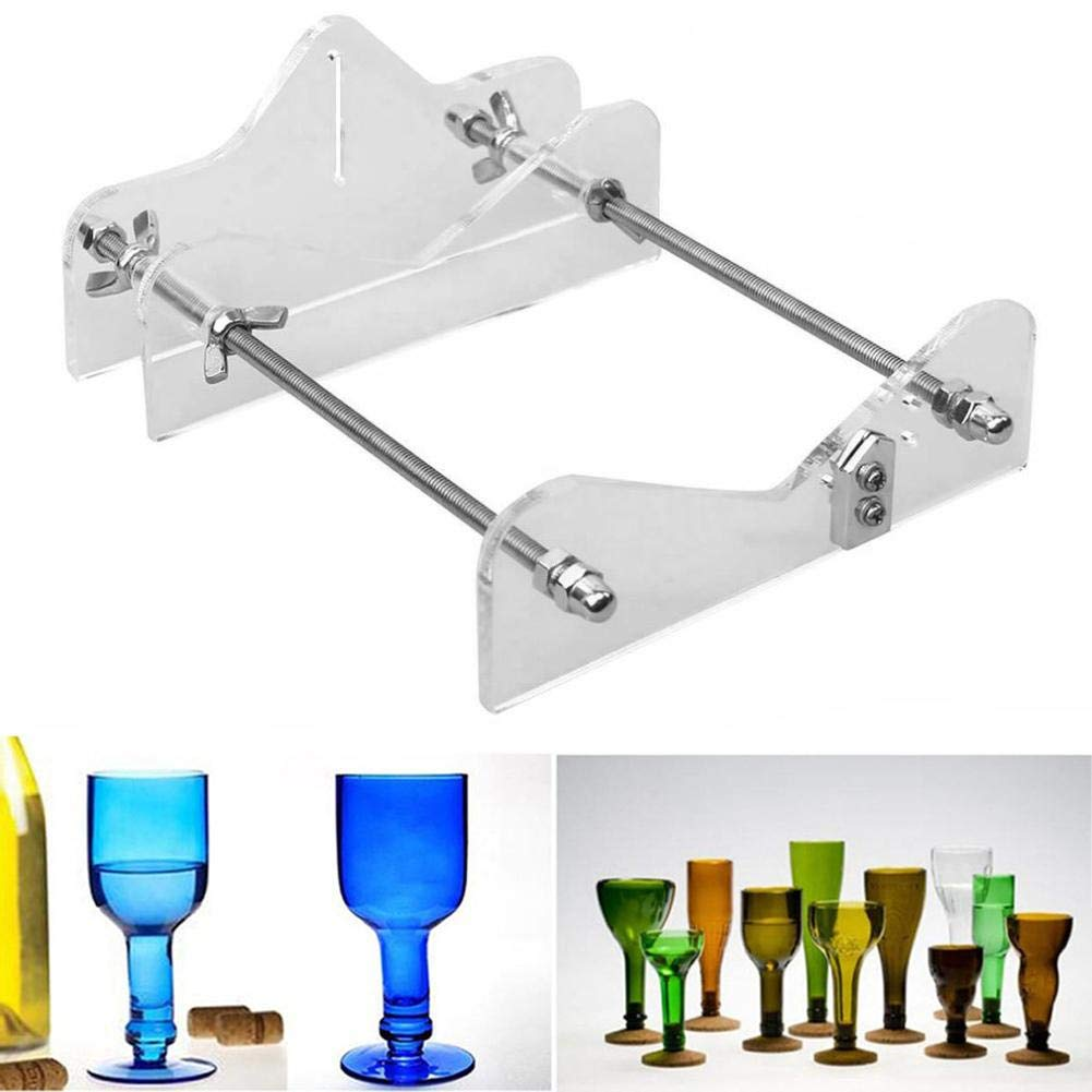 Glass Bottle Cutter Professional DIY Wine Beer Container Machine Cutting Set Tool Bar Supplies