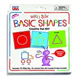Wikki Stix Basic Shapes Creative Fun Kit