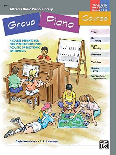 Group Piano Course: Teacher's Handbook for Books 1 & 2