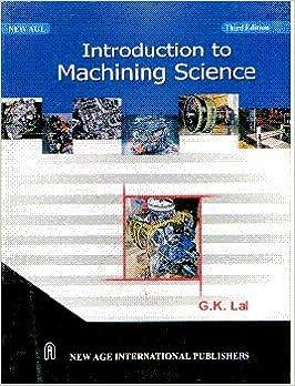 gk lal machining science