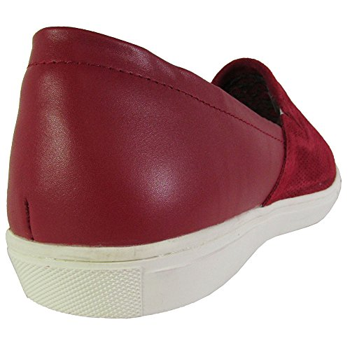 Kenneth Cole New York Homme C Side Su Loafer Sneaker Chaussures Rouge