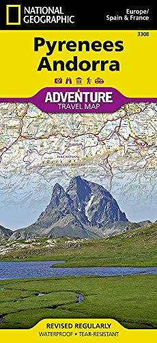 Pyrenees and Andorra (National Geographic Adventure Map)...