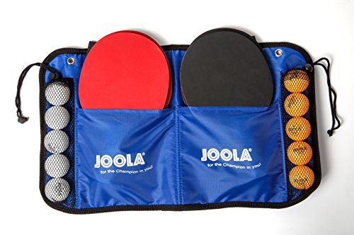 Great Features Of JOOLA Family Table Tennis Set with 4 Spirit Rackets and 10 Balls