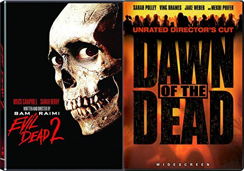 Dead Classic Collection DVD + The Evil Dead 2 & Dawn of The Dead Horror Movie Bundle Set