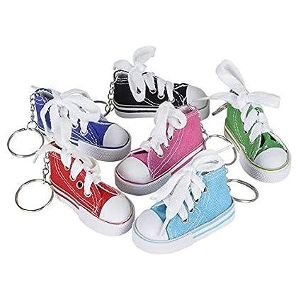 2f757c3363fc Amazon.com  Rhode Island Novelty 3 Inch Chuck Sneaker Canvas Tennis ...