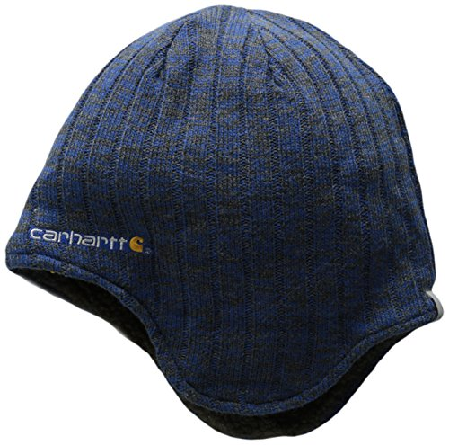 Carhartt Men's Akron Hat, Navy, One (Carhartt Winter Cap)