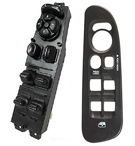 (SWITCHDOCTOR Window Master Switch & Black Bezel for 2002-2009 Dodge Ram (4 Door))