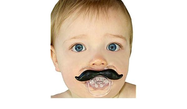fancyus bigote chupete 2 Pack para bebés y niños libre de ...