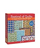 img - for Festival of Quilts Jigsaw Puzzle by Bonnie K. Hunter: 1000 Pieces, Dimensions 28