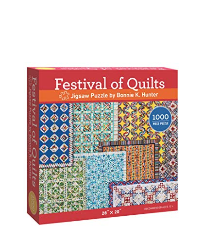 "Pdf Humor Festival of Quilts Jigsaw Puzzle by Bonnie K. Hunter: 1000 Pieces, Dimensions 28"" x 20"""