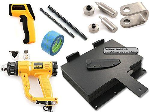 HolsterSmith: Sheath/Holster DIY Combo Kit - Basic Kit (Journeyman Series (Combo Kydex Sheath)