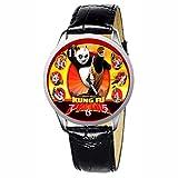 LCW041-1 New Kung Fu Panda Stainless Wristwatch Wrist Watch
