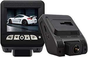 170°Wide Angle Front and Rear Dual Lens Car Dash Cam,1080P Full HD Car Camera DVR Dashboard Camera with Night Vision/G-Sensor