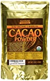 Organic Raw Cacao Powder - Best Dark Chocolate Taste - Pure Natural Unsweetened Cocoa 1lb/ 16oz