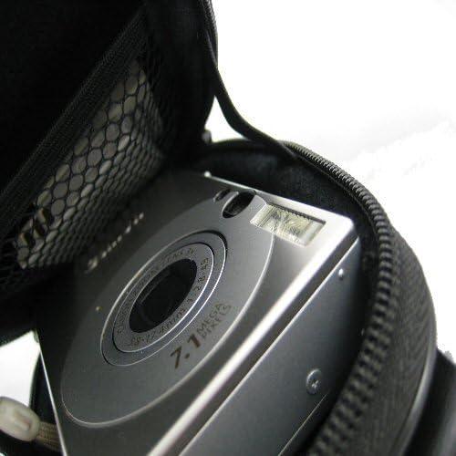 HDC-571E HDC-1291 HDC-571 Spiral Black /& White HDC-891E HDC-1296E Ex-Pro/® Expression Collection HDC-991 HDC-1098E Hard Clam Shock proof Digital Camera Case Bag CR5217P for Hitachi HDC-570 HDC-1491 /& More. HDC-1087E
