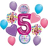 Barbie 5th Birthday Party Supplies Balloon Bouquet Decorations