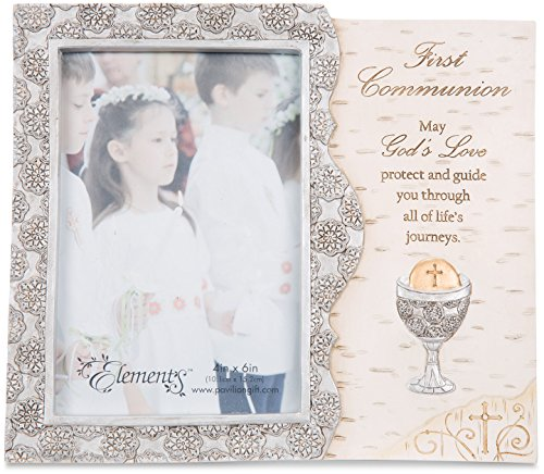 Pavilion Gift Company Elements Catholic First Communion Gift Picture Frame, 4