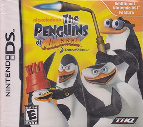 The Penguins of Madagascar - Nintendo DS by THQ (Game Penguin Ds Madagascar Of)