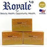 Authentic Royale Kojic Papaya Soap – 3 pieces Review