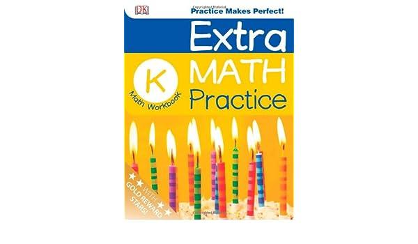 Extra Math Practice: Kindergarten (Math Made Easy): DK Publishing ...