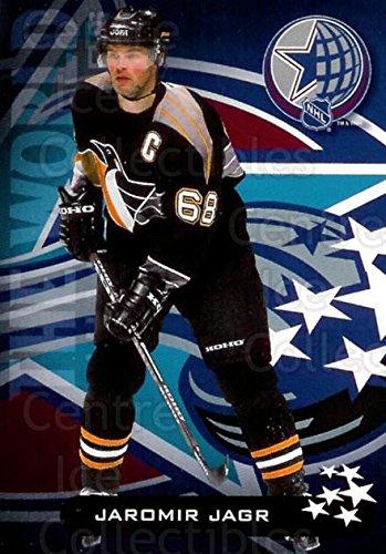 (CI) Jaromir Jagr Hockey Card 2001-02 Nortel AS Game 1 Jaromir Jagr