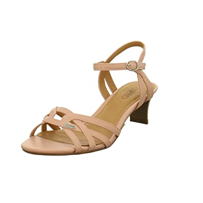 83555d57ee814d ESPRIT Damen Sandaletten Birkin Sandal Sandalette 039EK1W007 680 rosa 525318