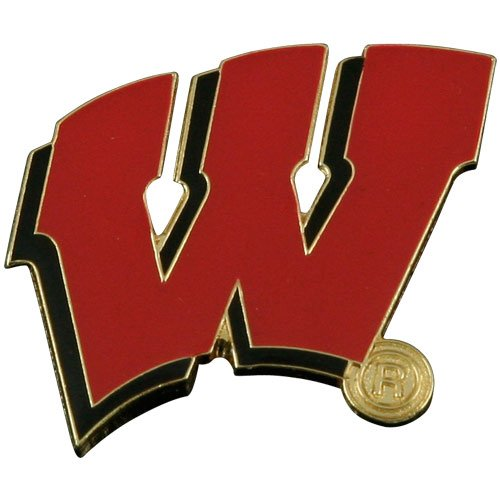NCAA Wisconsin Badgers Logo Pin