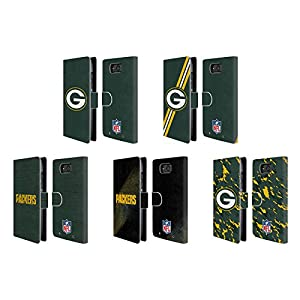 Official NFL Green Bay Packers Logo Leather Book Wallet Case Cover For Motorola DROID Maxx from Head Case Designs