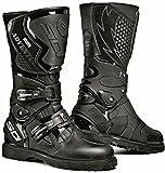 Sidi Adventure Gore Black Motorcycle Boots (Size EU 44)