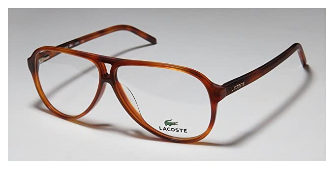 Lacoste Gafas de Sol L2650569140 (56 mm) Havana: Amazon.es ...