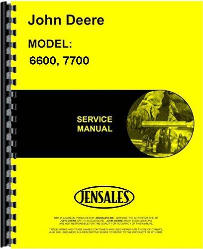John Deere Combine Service Manual (6600 Combine | 7700 Combine) JD-S-TM1021 (John Deere Service)