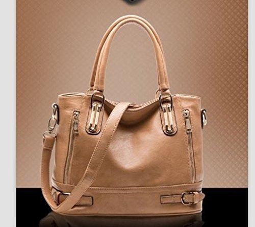 ac15959f2dca Wyhui Women PU Leather Handbags Women Messenger Bags Fashion Women's  Shoulder Bag Female Tote Lady Bolsa Femininas Beige bag