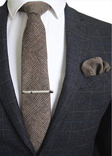 Txrh Corbatas 8cm del Lazo Tela Escocesa sólida Corbata for los ...