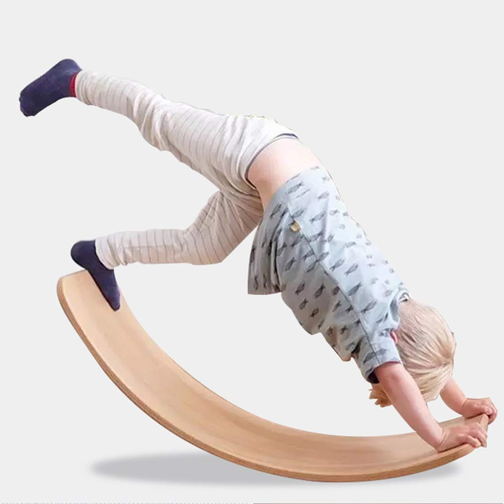 Amazon.com: AP.DISHU Wooden Balance Waldorf Toys Board ...