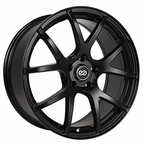 18x8 Enkei M52 (Matte Black) Wheels/Rims 5x100 (480-880-8045BK)