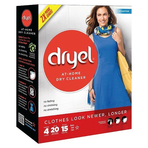 Dryel At-Home Dry Cleaner Starter Kit 4 Loads (1)