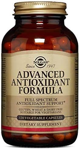 Solgar – Advanced Antioxidant Formula, 120 Vegetable Capsules