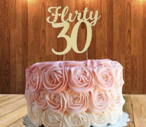 Miraculous Amazon Com Flirty 30 Cake Topper Flirty Thirty Cake Topper Funny Birthday Cards Online Barepcheapnameinfo
